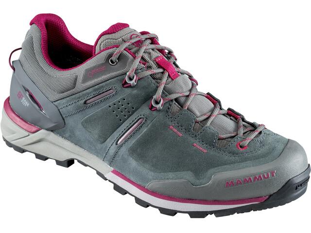 Mammut Alnasca Low GTX Naiset kengät , harmaa/vaaleanpunainen